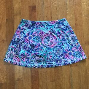 LILLY PULITZER LUXLETIC SKIRT